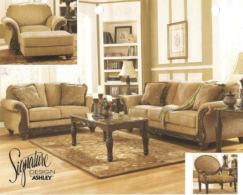 Ashley Furniture 44601 Sofa And Loveseat | Living Room Furniture | Pinterest