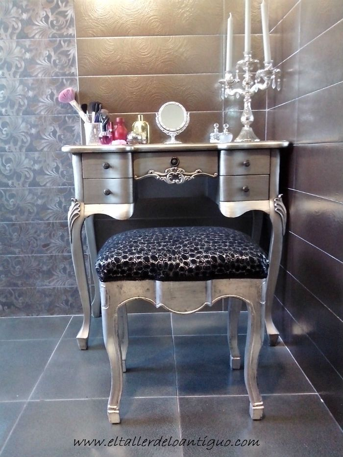 Platear al mixtion el taller de lo antiguo ganchillo pinterest chalky paint chabby chic - El taller de lo antiguo ...