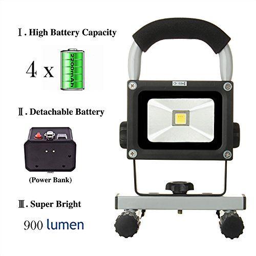 LOFTEK® 10W LED Work Light/Portable Work Lights With