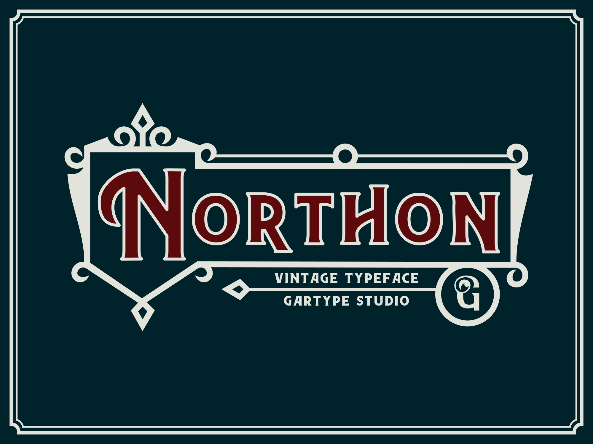 Northon Font and Ornament Pixelify Best Free Fonts