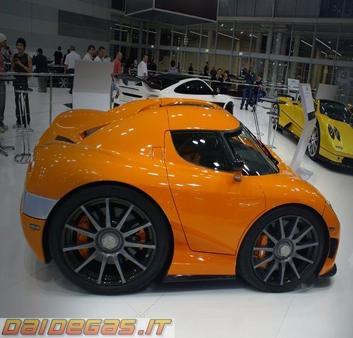 Mini Koenigsegg CCX www.daidegasforum | The Motor Show | Pinterest on