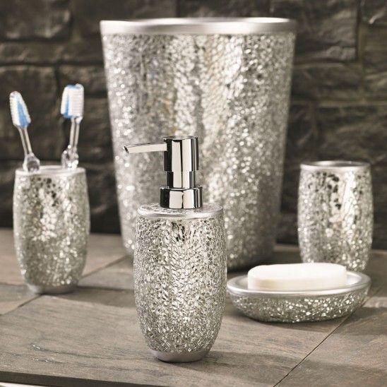 rhinestone bathroom accessories. Flato Home Products Magic Bathroom Set glitter accessories  Google Search Glitter Pinterest Searching