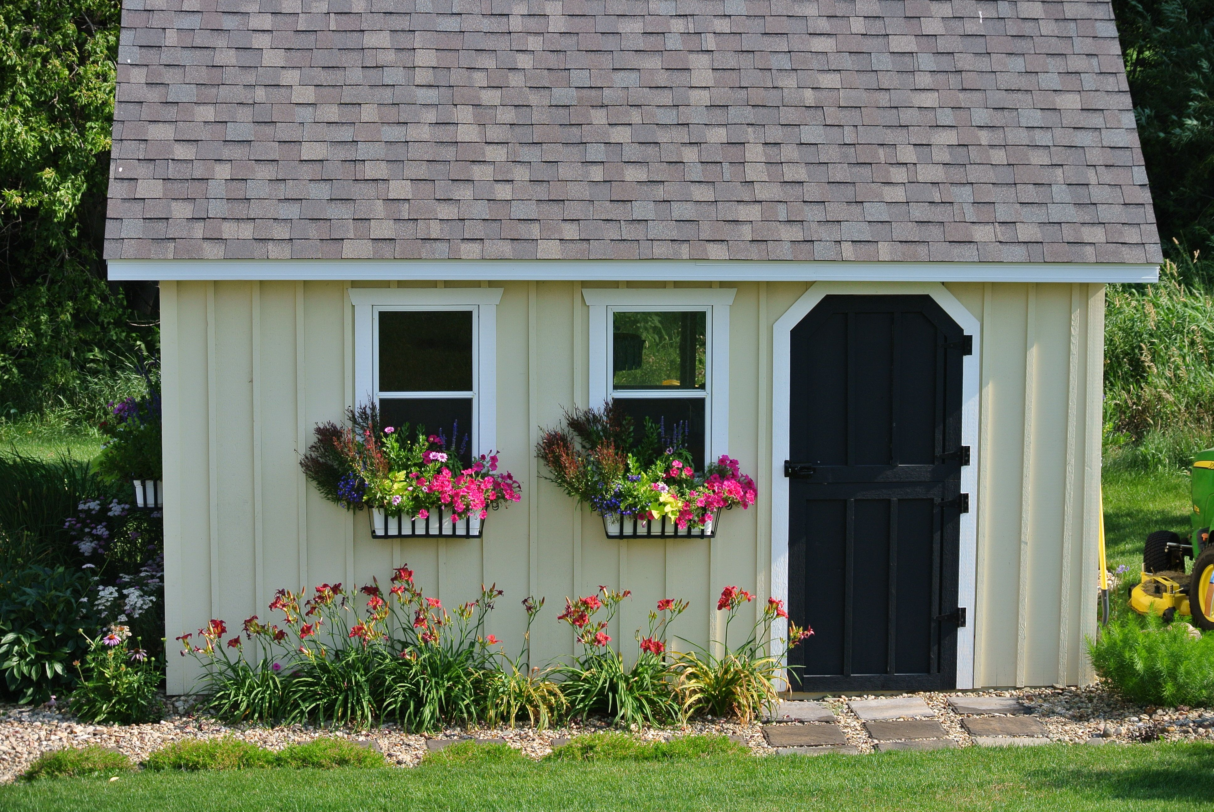 Garden Shed Glory With Images Flower Garden