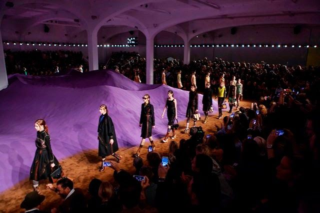 Prada S/S 2015: The Show Space | Fashion Installation