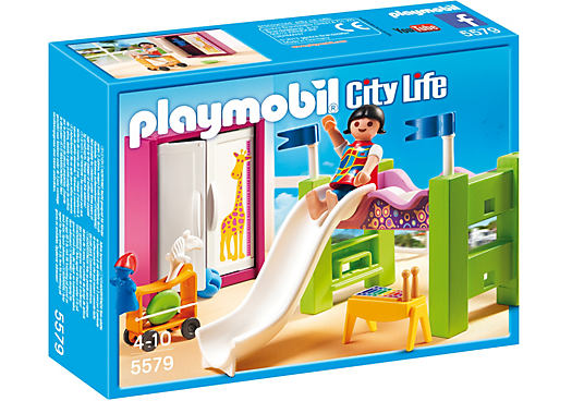 Children´s Room with Loft Bed and Slide 5579 PLAYMOBIL