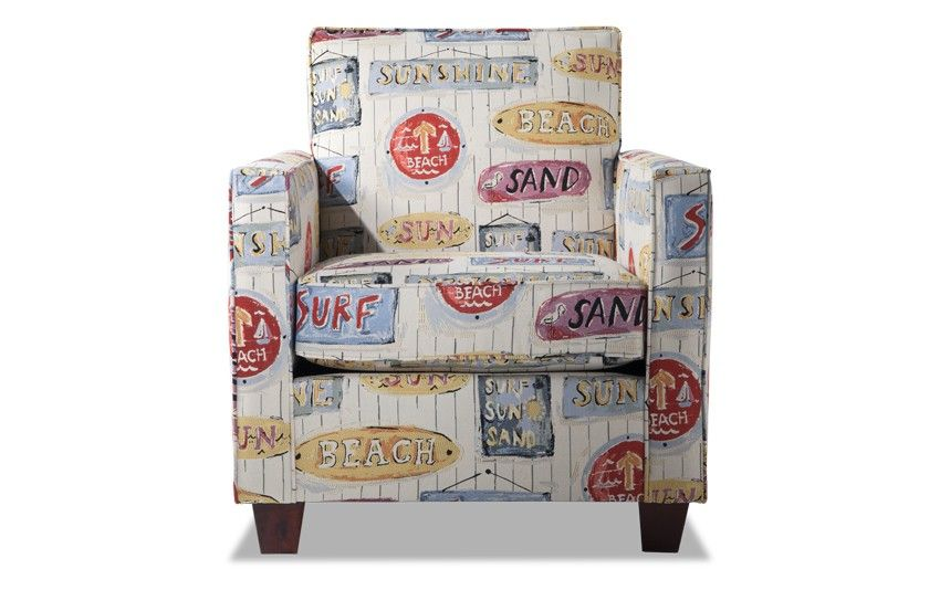 Ariel Sunshine Accent Chair Bobs Com Accent Chairs Chair
