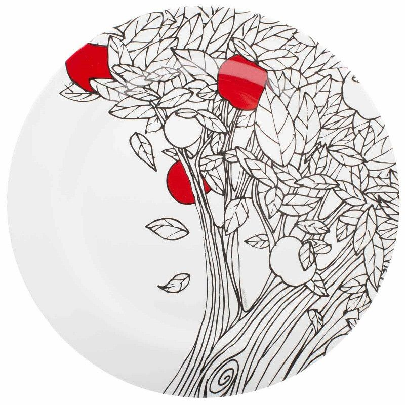 bpA free geometric patterned plastic dishes   Gala 11-inch Dinner Plate - front view  sc 1 st  Pinterest & bpA free geometric patterned plastic dishes   Gala 11-inch Dinner ...