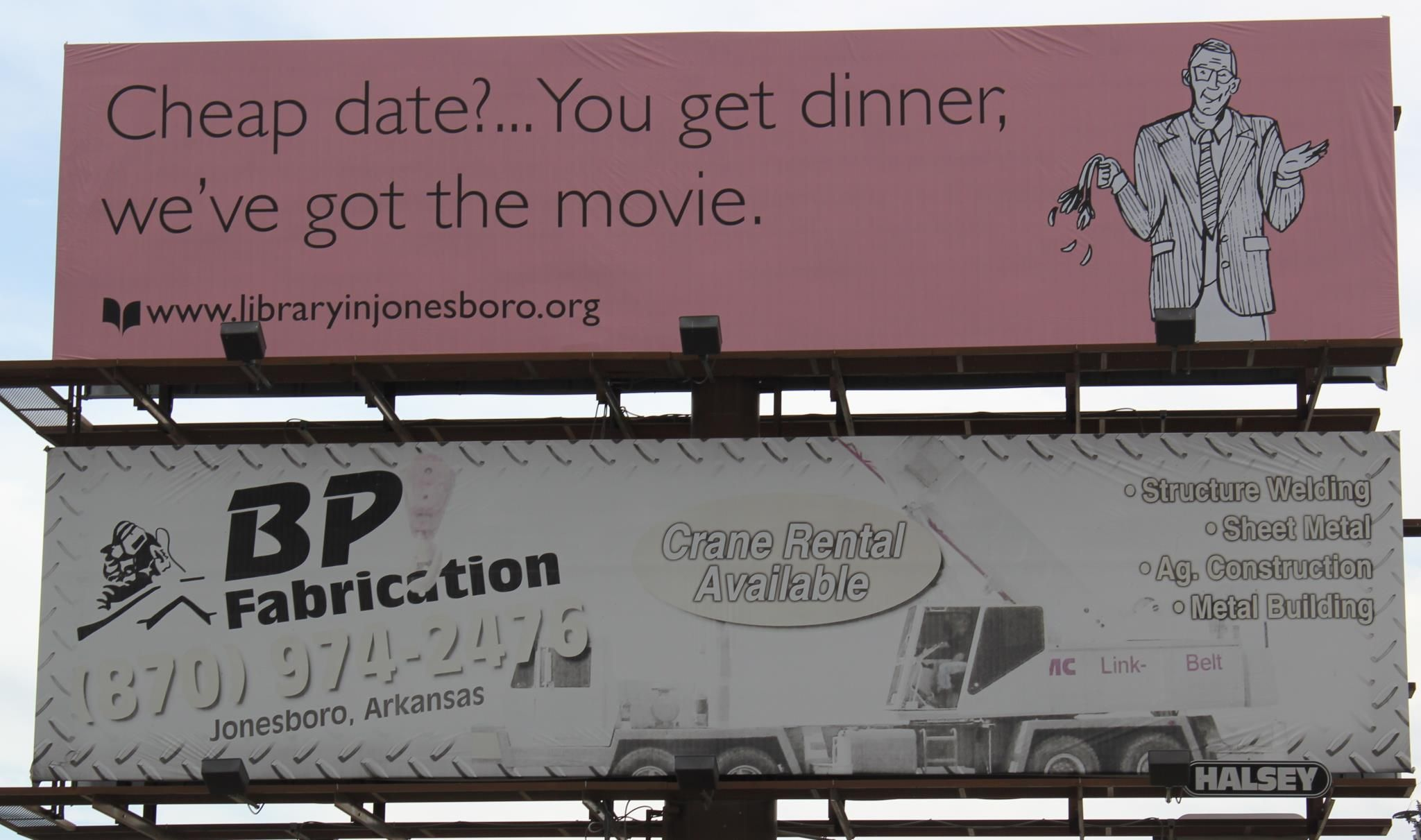 Craighead County Jonesboro Public Library's new ad ...