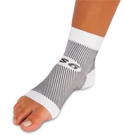Darco DCS #PlantarFasciitis Sleeve FS6 technology provides six graduated compression zones to help improve circulation and relieve the pain of edema associated with plantar fasciitis, heel spurs, and arch pain. Targeted medical grade compression zones provide a sustained stretch to the plantar fascia. Twenty four hour support allows wear while sleeping or under socks when active. Constructed of medical grade fabric. Not made with natural rubber latex.
