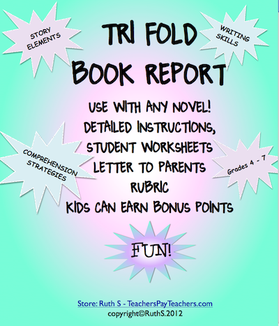 watch pencils zoom across the pages of this trifold book report packet as kids collaborate with friends for answers display for all to see