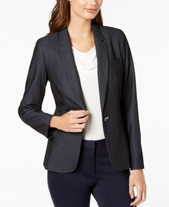 7e545d79bcb Calvin Klein One-Button Blazer