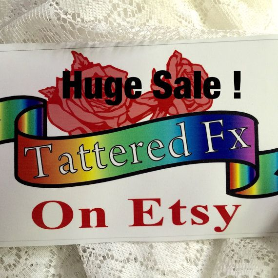 Huge Sale Summer Clearance Markdown Upcycled By Tatteredfx