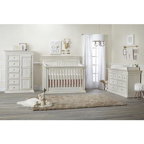 Baby Cache Vienna 6 Drawer Dresser - Antique White - Baby Cache - Babies