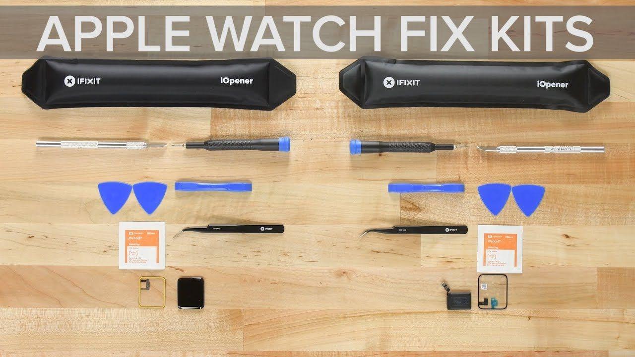 Apple watch fix kits apple watch repair videos ifixit
