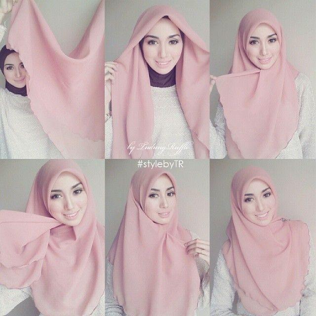 Cute Simple & Easy Hijab Tutorial