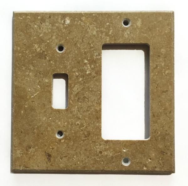 Rocker Switch Plate Stunning Noce Travertine Toggle Rocker Switch Wall Plate  Outlet Cover Inspiration