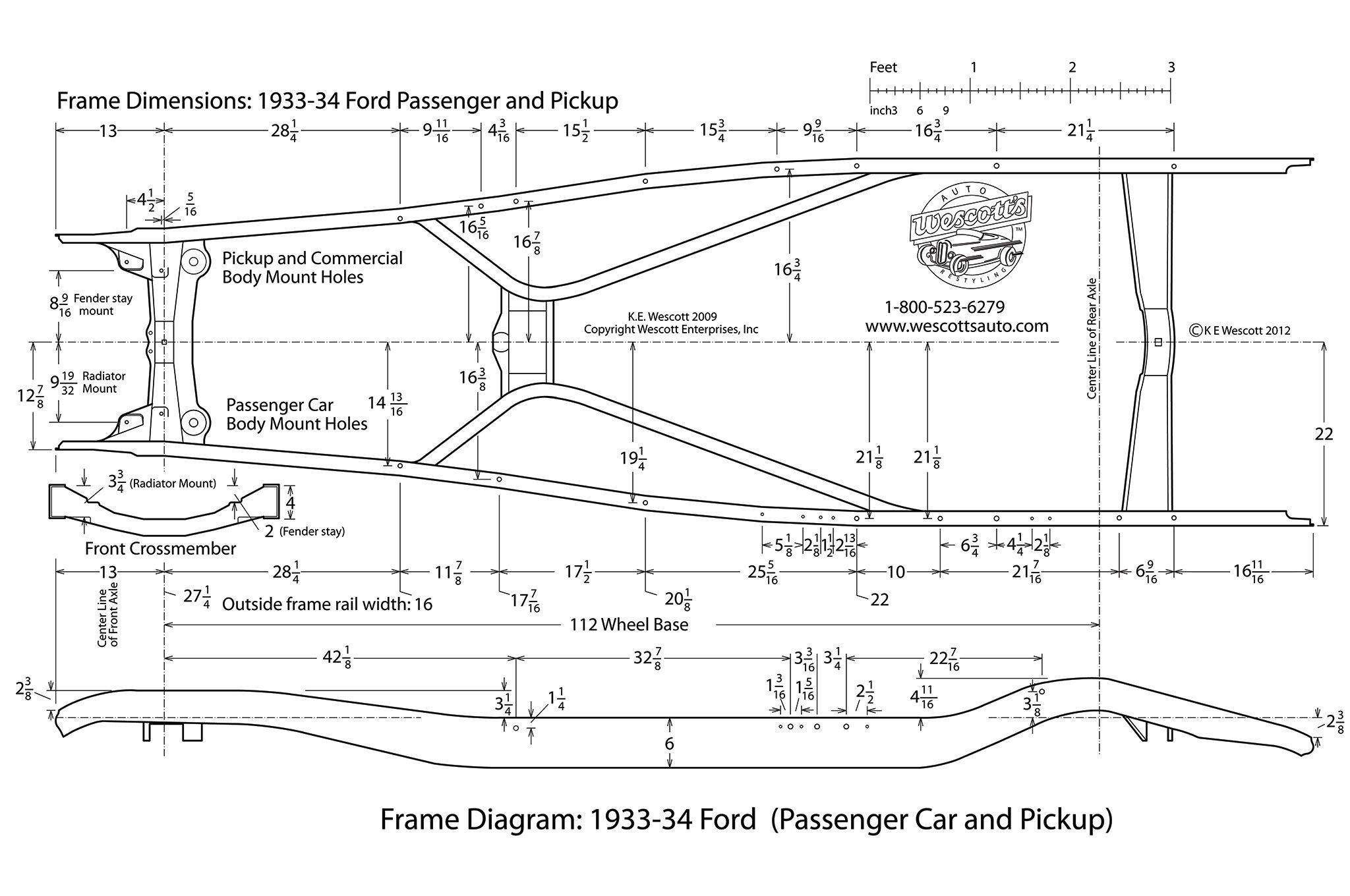 1940 Ford Frame Dimensions   Frameviewjdi.org