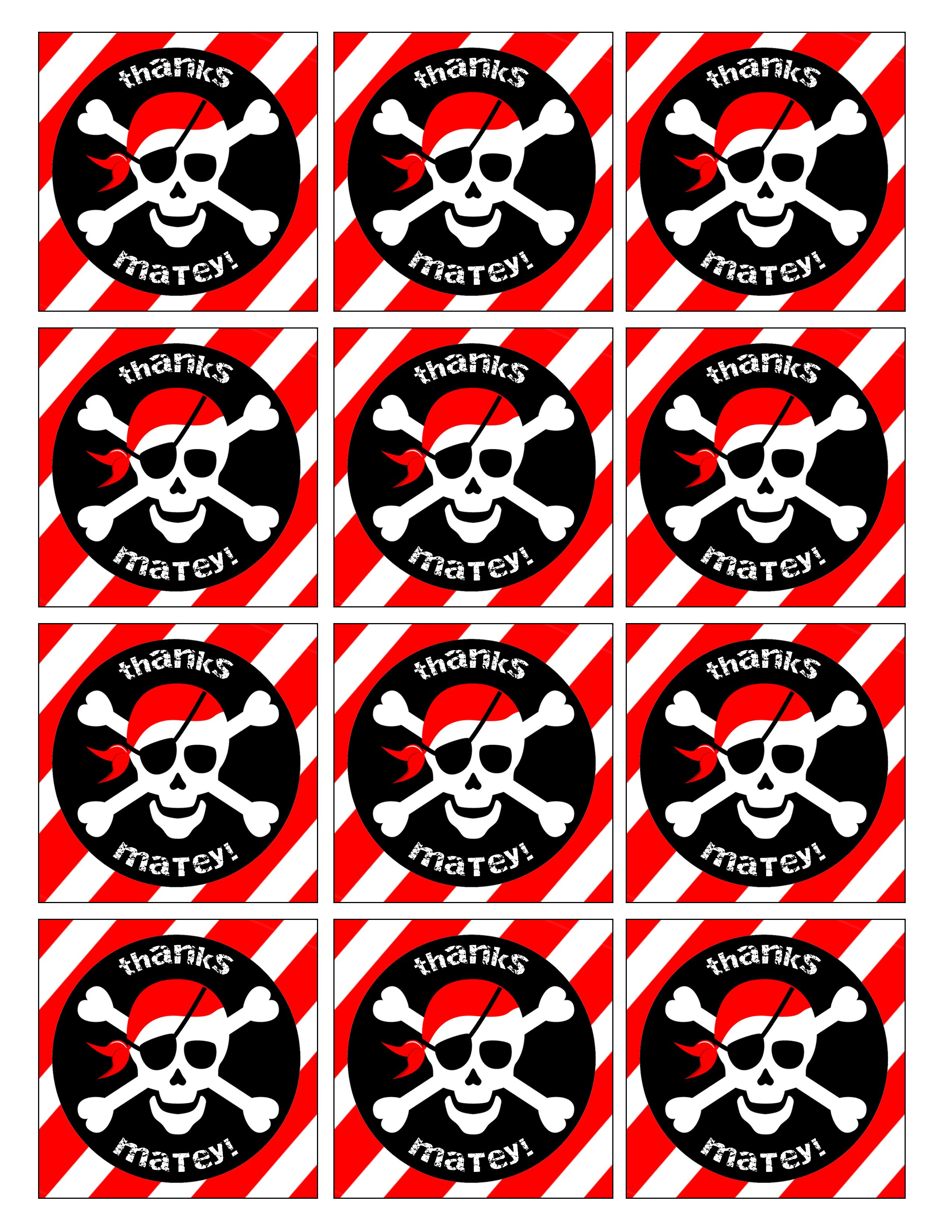 Pirate Birthday Party With Free Printables Pirate Birthday