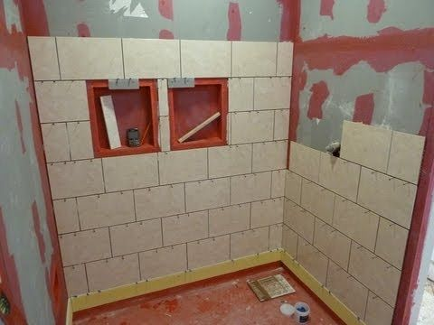 part quot 1 quot how to install tile on shower tub wall step by 13920