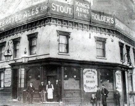 The Kings Arms In Suffolk Street Birmingham C 1907 Birmingham