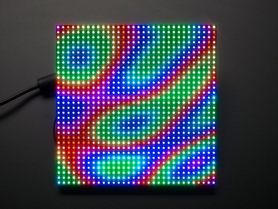 32x32 RGB LED Matrix Panel - 6mm pitch in 2019 | duty free