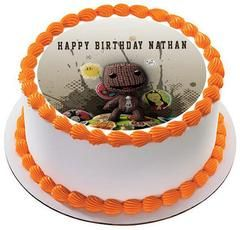 Little Big Planet Edible Birthday Cake Topper OR Cupcake ...