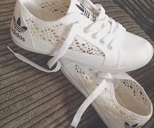 I love tennis shoes for fall and the white lace Adidas are amazing and help  to