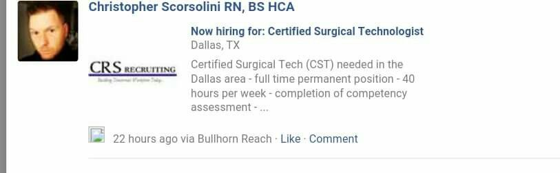 Certified surgical tech in dallas tx texas city