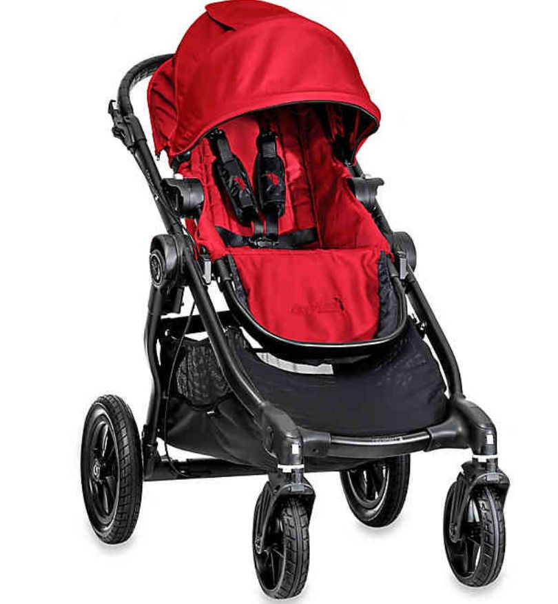 Baby Jogger City Select stroller red NEW BabyJogger