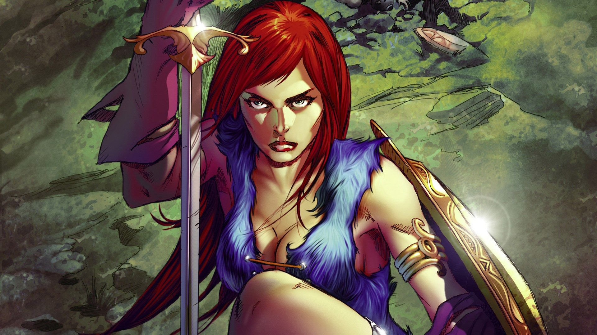 Red Sonja For Large Desktop 1920x1080 Red Sonja Comic Character Wallpaper