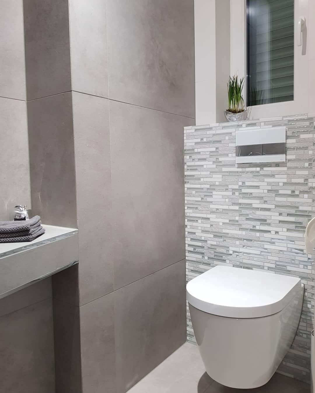 Izabela Kostka On Instagram Toaleta Wc Gastewc Hausbau Homesweethome Homeinspira Badezimmer Mosaik Badezimmer Fliesen Ideen Bilder Mosaik Fliesen Bad
