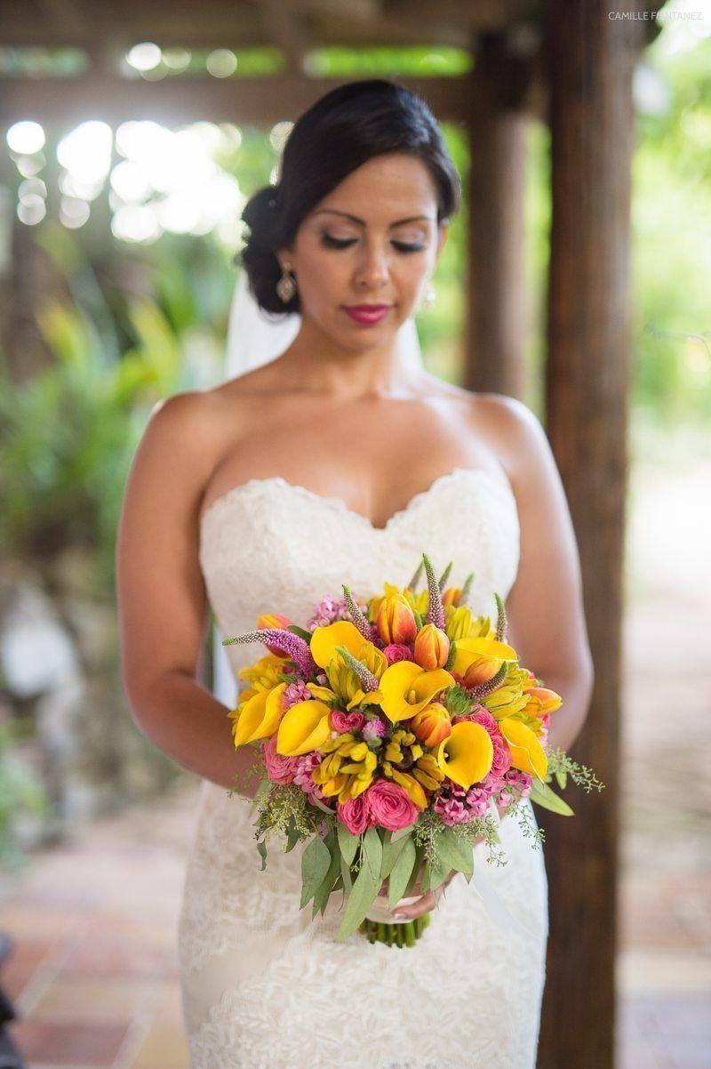 Tropical Destination Wedding in the Caribbean Jamaica