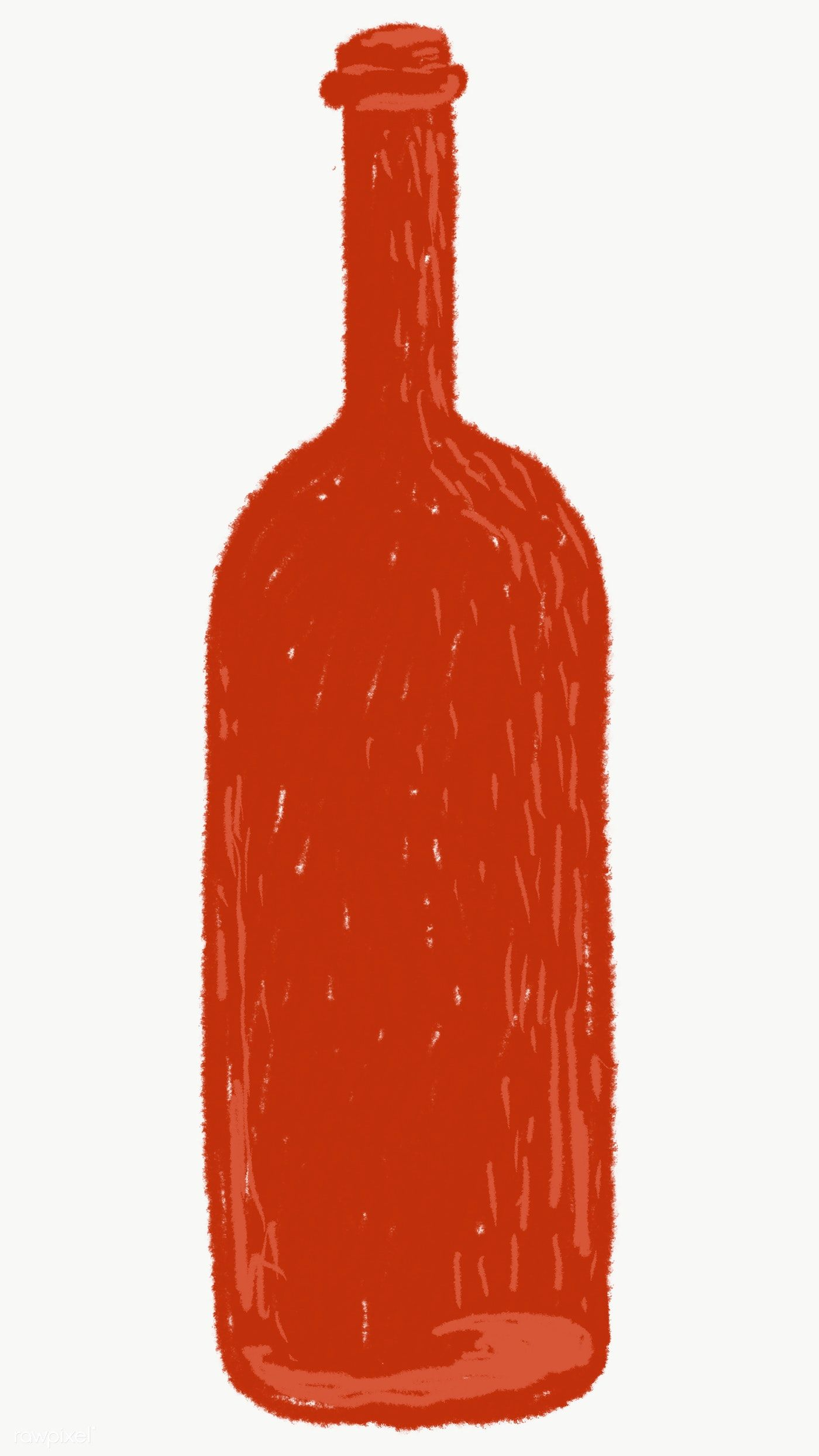 Red Glass Bottle Element Transparent Png Free Image By Rawpixel Com Sasi Green Glass Bottles Brown Glass Bottles Red Glass