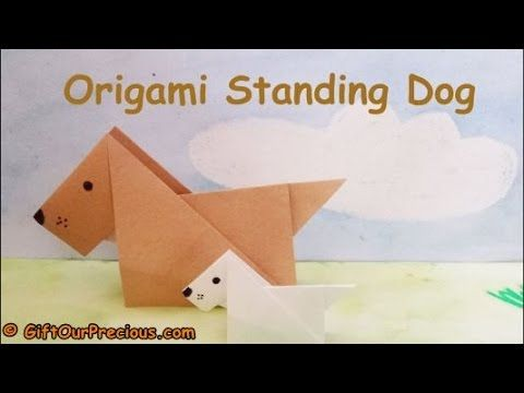 3d Origami Tiger Instructions | Easy Origami for Kids | 360x480