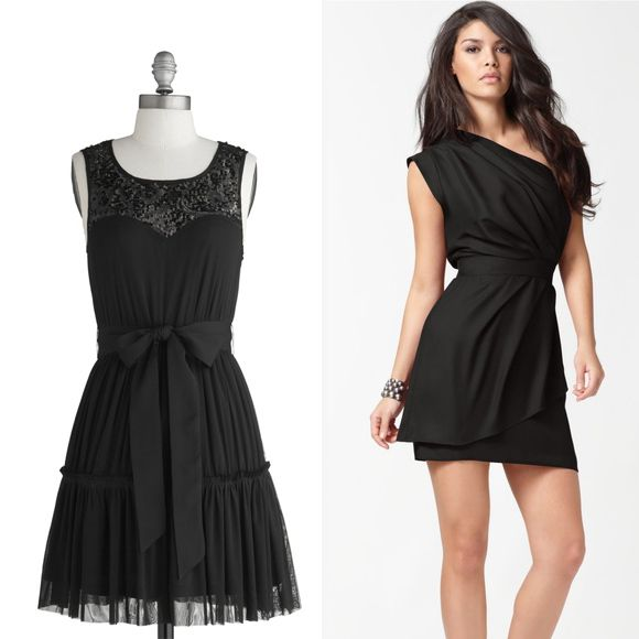 Cheap Wedding Dresses Raleigh Nc: 12 Affordable Little Black Bridesmaid Dresses @Heather