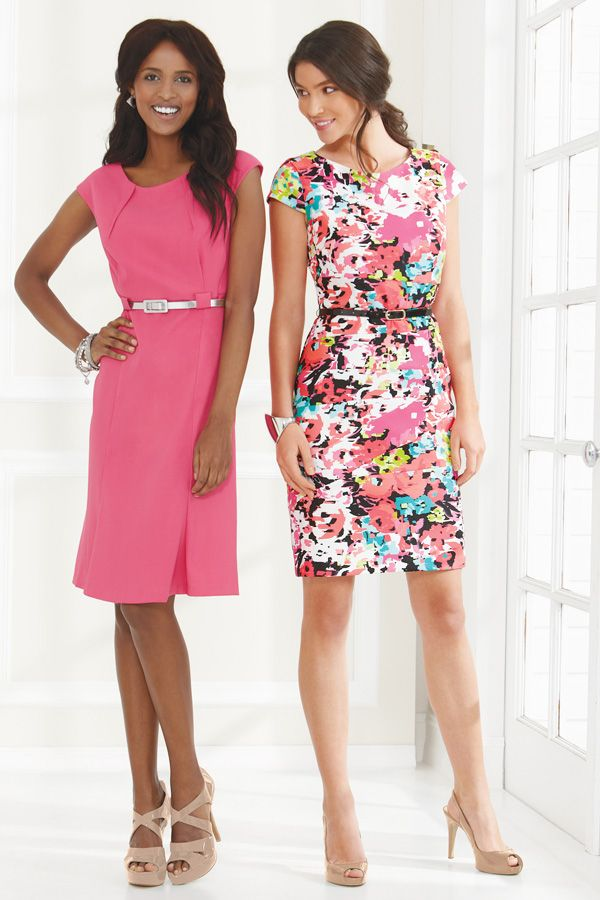 Connected Apparel Cap Sleeve Belk Dresses Cute Trendy
