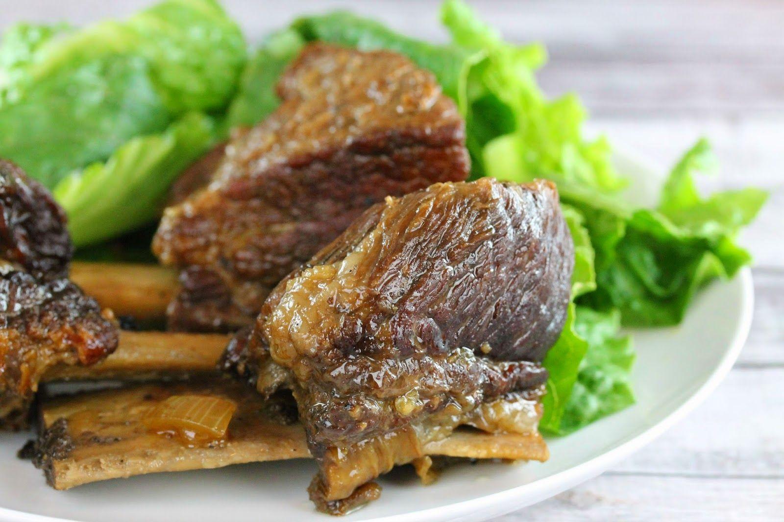 Classic Braised Beef Short Ribs Recipe Braised Beef Beef Short Ribs Short Ribs