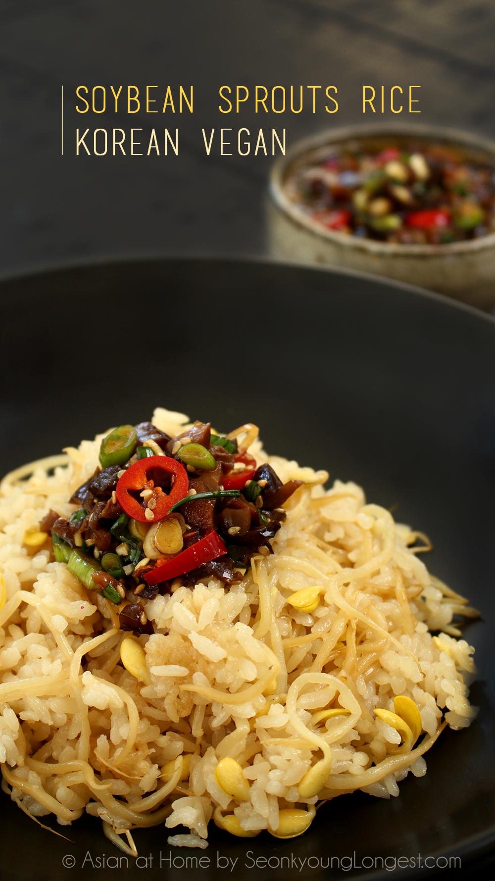 Korean vegan soybean sprouts rice recipe rice recipes sprouts food korean vegan soybean sprouts rice recipe forumfinder Gallery