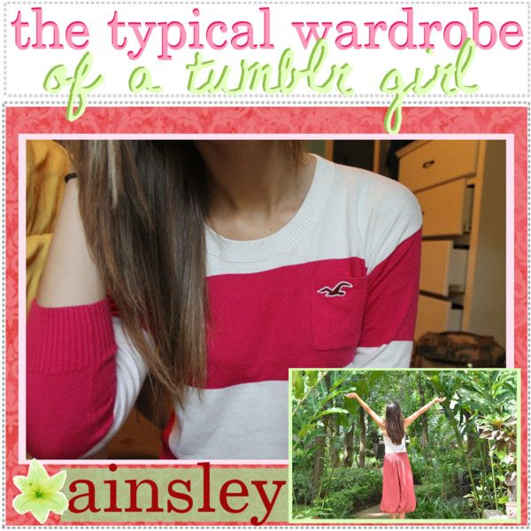 the typical wardrobe essentials of a tumblr girl // ainsley