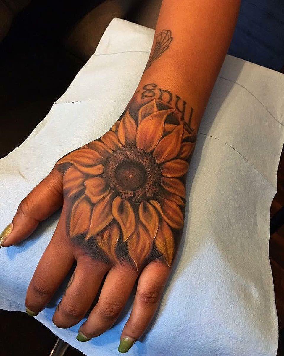 Photo of 50 Summer Sunflower Tattoos Design And Ideas Sunflower tattoo