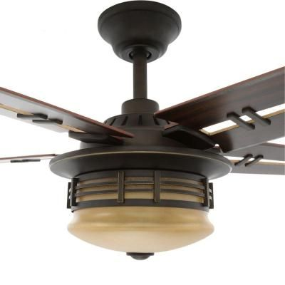Hampton Bay Pendleton 52 In Oil Rubbed Bronze Indoor Ceiling Fan 56152 The Home Depot Ceiling Fan Bronze Ceiling Fan Ceiling Fan With Light