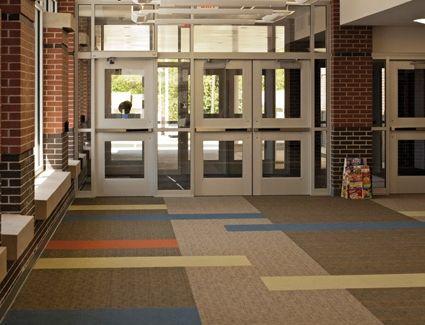 School Carpet Installation Carpet Floor Tiles Installation Jj Invision Carpet Installation Flooring Lvt Flooring