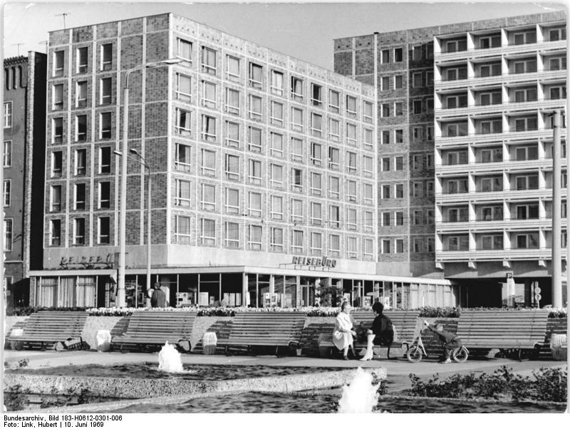 Rostock 'Hotel Warnow' June 1969