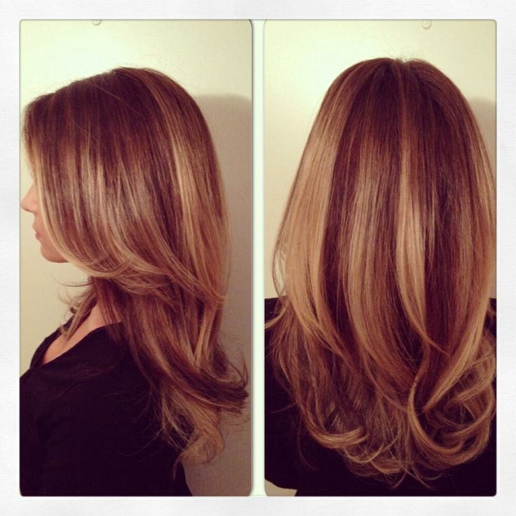 Balayage Highlights Red Hair Les cheveux longs - long hair on ...