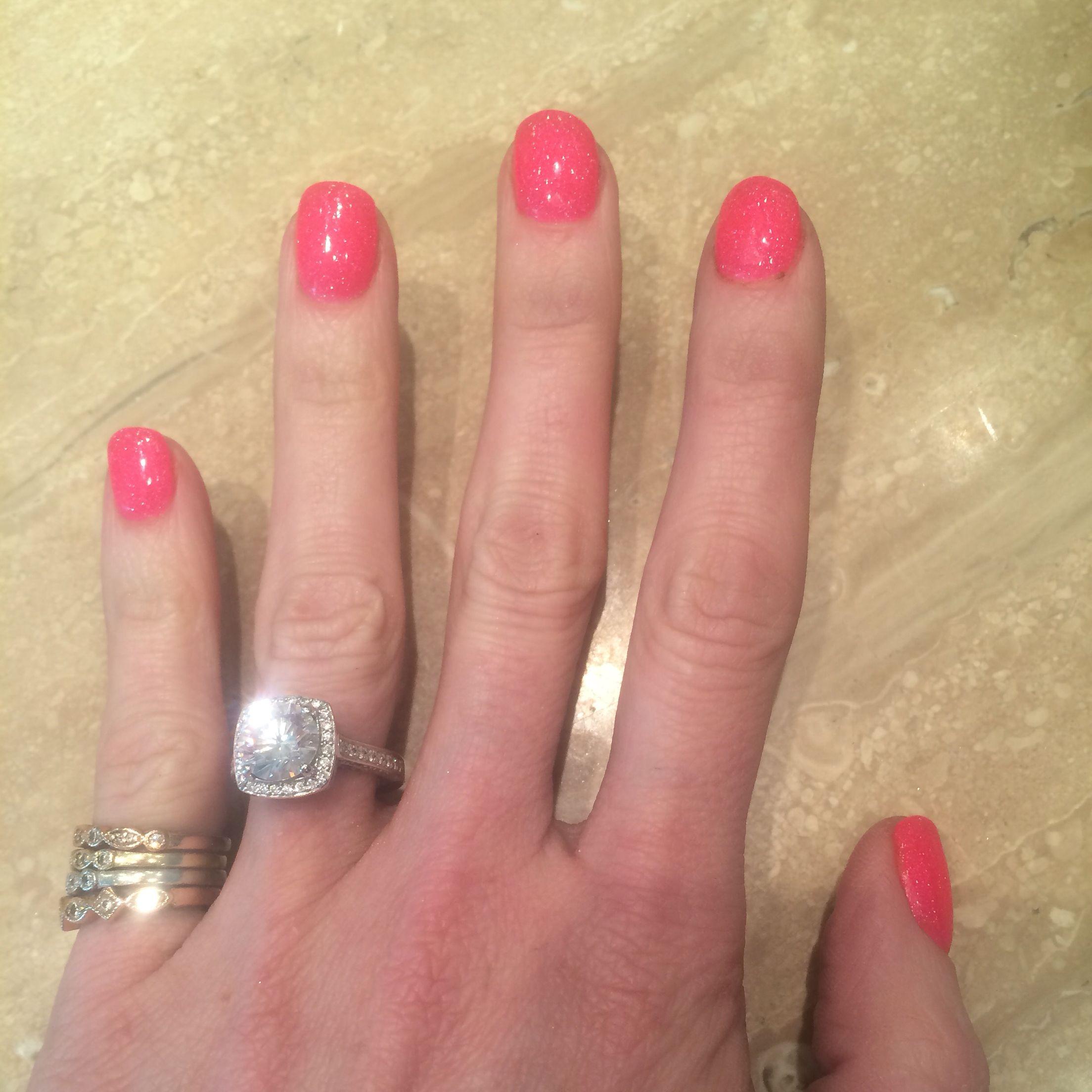 Christmas Nails Nexgen: Nexgen Pink Nails : Dipping Powder Nails