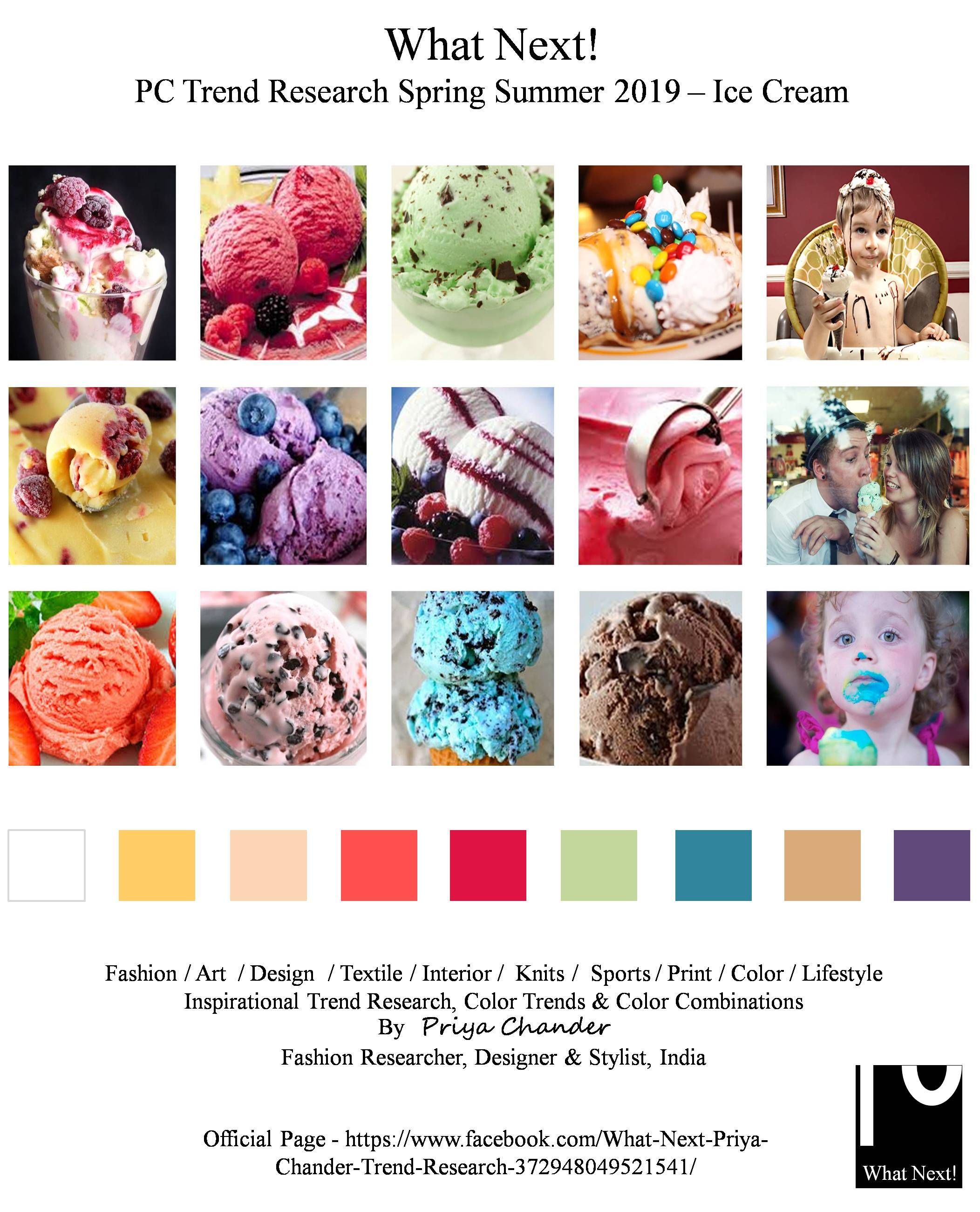 Color Trends What S New What S Next: #Icecream #vanillaicecream #SS19 #FashionDesigner