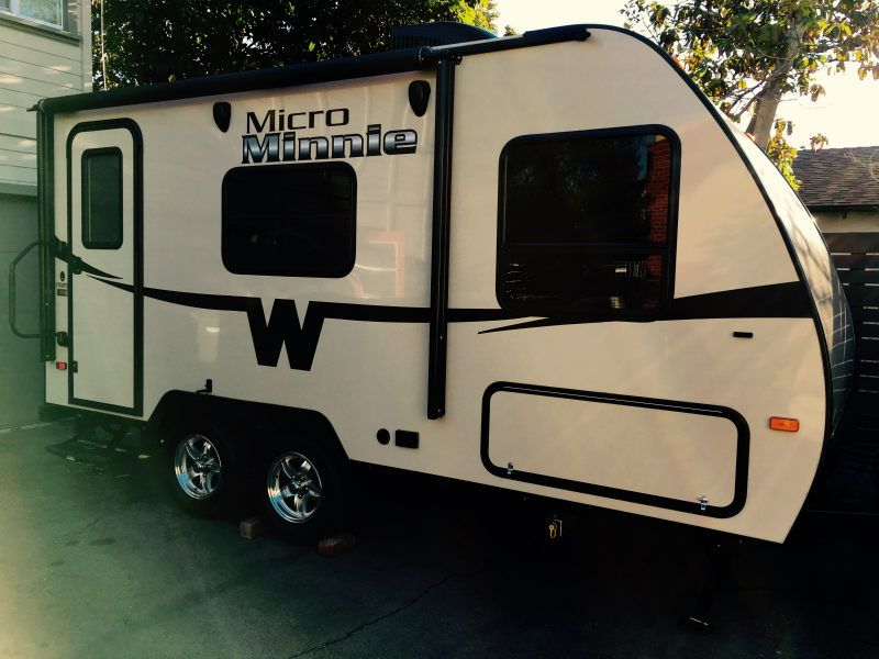 Mini Micro Trailer Gets Stylish Makeover Small Motorhomes Tiny