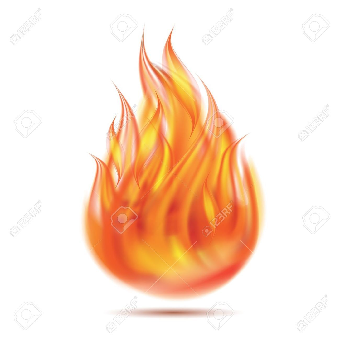fire on white background 18785227 symbol of fire on white background illustration 1386