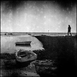 Tirage photo noir et blanc sur forex