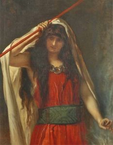 Woman in Red Tunic - Jean-François Portaels - The Athenaeum